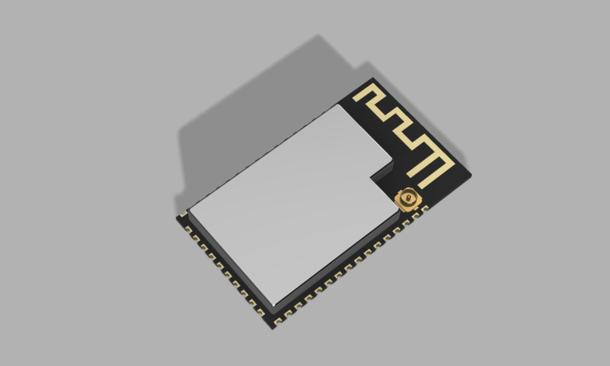 esp32-s2-wrover rendering